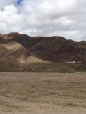 The rich colors of a fluvial section